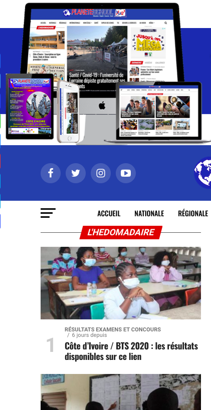 Planete School Magazine & Télévision Éducative
